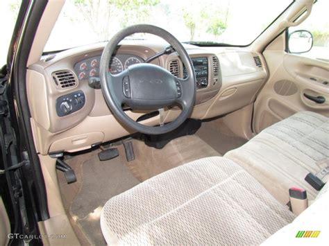 medium prairie interior 1998 ford f150 xlt supercab