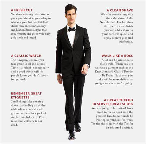 gentleman s gentlemans guide to tuxedos 2 knot standard blog