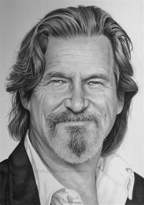F Drawing Pencil by It Is Not A Photo Realistic Drawings And Jeff Bridges