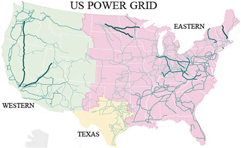 map us electric grid united states power generation locations and our reliance
