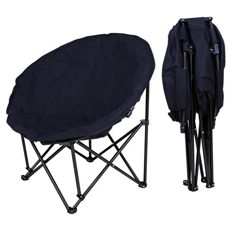 folding bedroom chair large folding padded moon chair comfort lounge bedroom