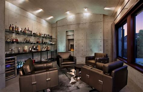50 tips and ideas for a successful man cave decor tour the interiors of a single man s glass house
