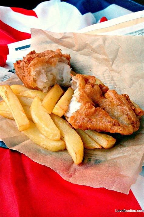 fish and battered fish and chips lovefoodies