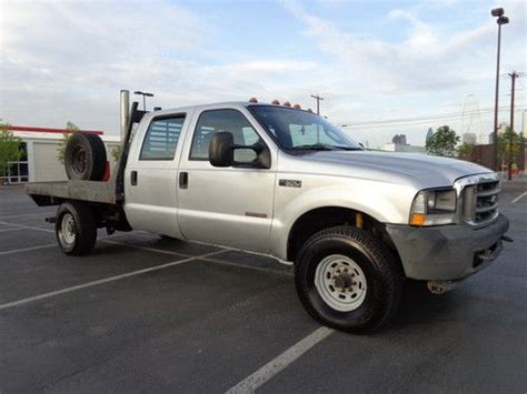 car owners manuals for sale 2002 ford f350 transmission control find used 2003 ford f350 xl v8 6 0l turbo diesel crew cab flat bed 4x4 5 speed manual in plano