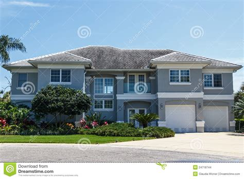 Large Luxury Homes Large Luxury Home Stock Images Image 24718744