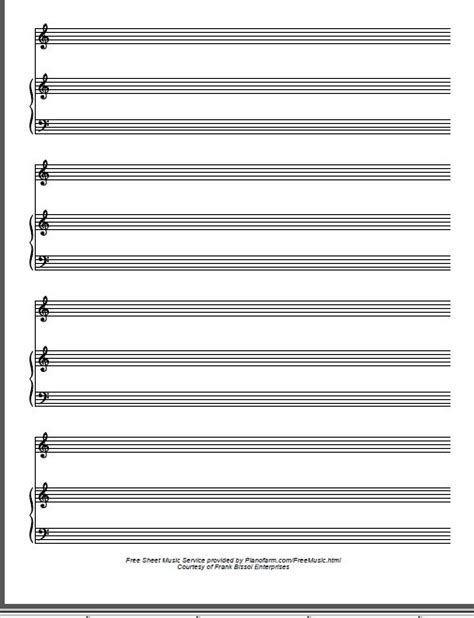 printable manuscript paper piano downloadable pdf audio and video files