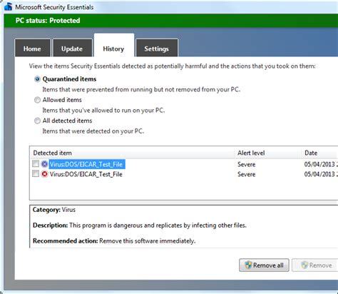 eicar test how to test your antivirus firewall browser and
