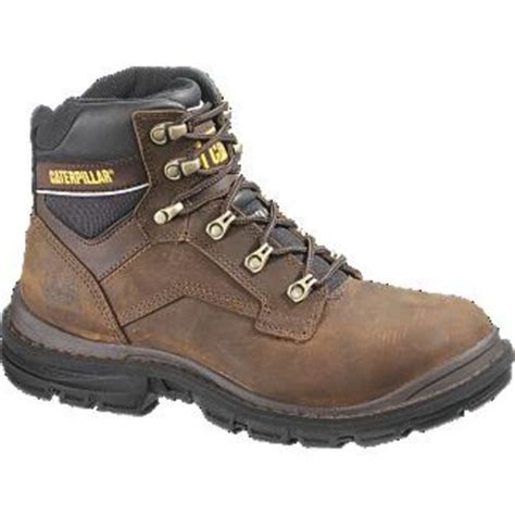 caterpillar generator 6 quot st s work boot brown free shipping