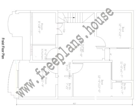 1500 square feet in meters 30 215 40 feet 108 square meters house plan