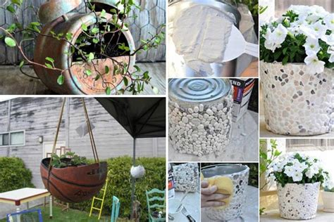 Cheap Planter Ideas by 24 Whimsical Diy Recycled Planting Pots On The Cheap
