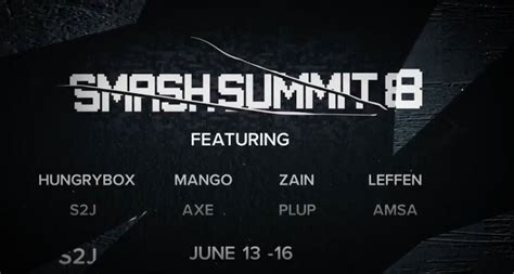 smash summit  lineup announced   favorite melee