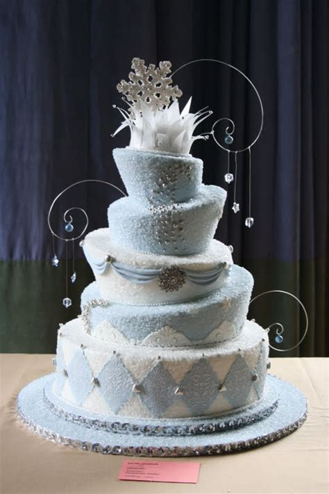 all about wedding cake winter wedding cakes
