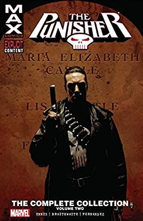 punisher max the complete amazon com punisher max the complete collection vol 2