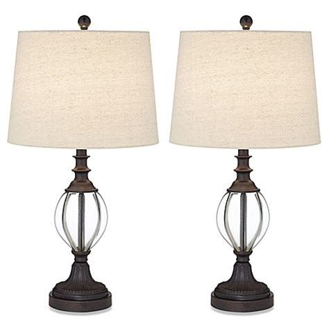 bed bath and beyond tigard pacific coast 174 lighting set of 2 tigard table ls bed