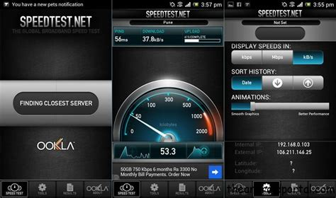 speedtest for android speedtest net test speed on your android device