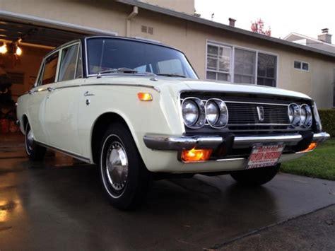 Toyota Corona For Sale Restored 1970 Toyota Corona Deluxe Bring A Trailer