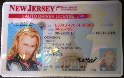Address Lookup New Jersey New Jersey Nj License Id Viking