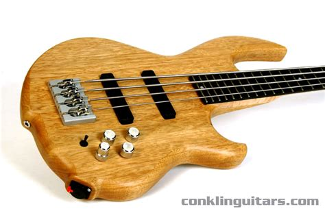 Dryer Contra Bass 4 Strings custom shop sidewinder 4 string bass with solid korina