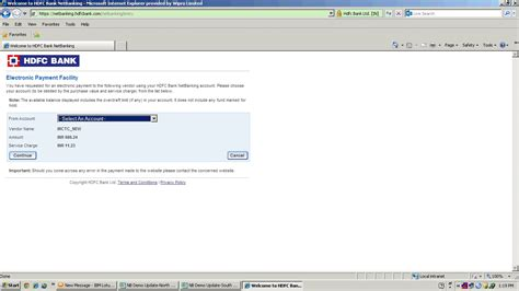 net banking with hdfc bank hdfc bank irctc netbanking