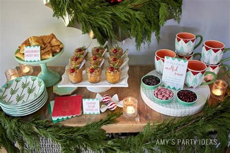 holiday open house amy s party ideas