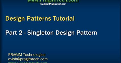 singleton design pattern dot net tricks sql server net and c video tutorial singleton design