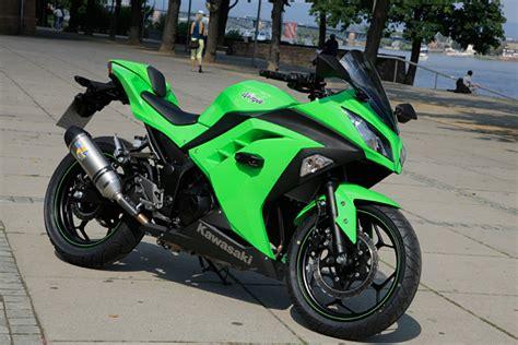 Motorrad Auspuff Unterm Heck by Kawasaki Ninja 300 Testbericht Fazit Actionfotos Testvideo