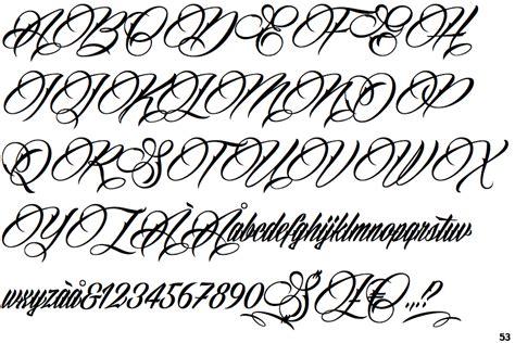 tattoo fonts billion stars identifont billion