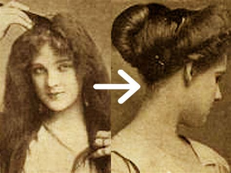 hair styles in 1900 easy edwardian hairstyle in 10 minutes glamourdaze