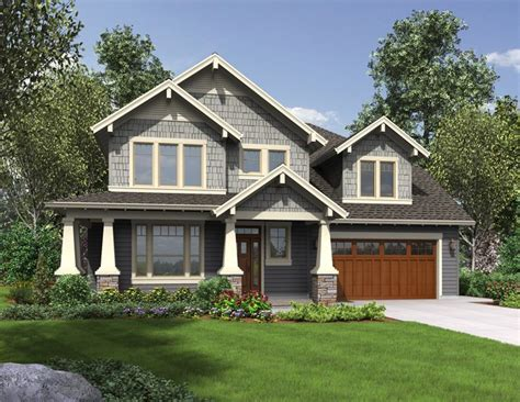 Craftsman House Plans With Porch by House Plan Hood River Craftsman Home Plan