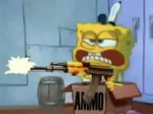 spongebob goes to the kitchen bad edition