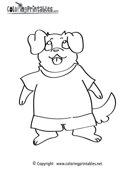 free clothes coloring pages new calendar template site