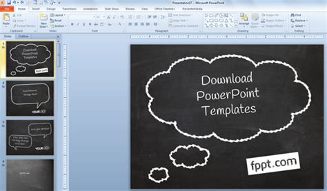 How To Create A Simple Powerpoint Blackboard Presentation Powerpoint Presentation Free Chalkboard Powerpoint Template