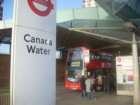 canada water bus station wikipedia