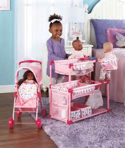 baby doll play center and tandem stroller lets imagine