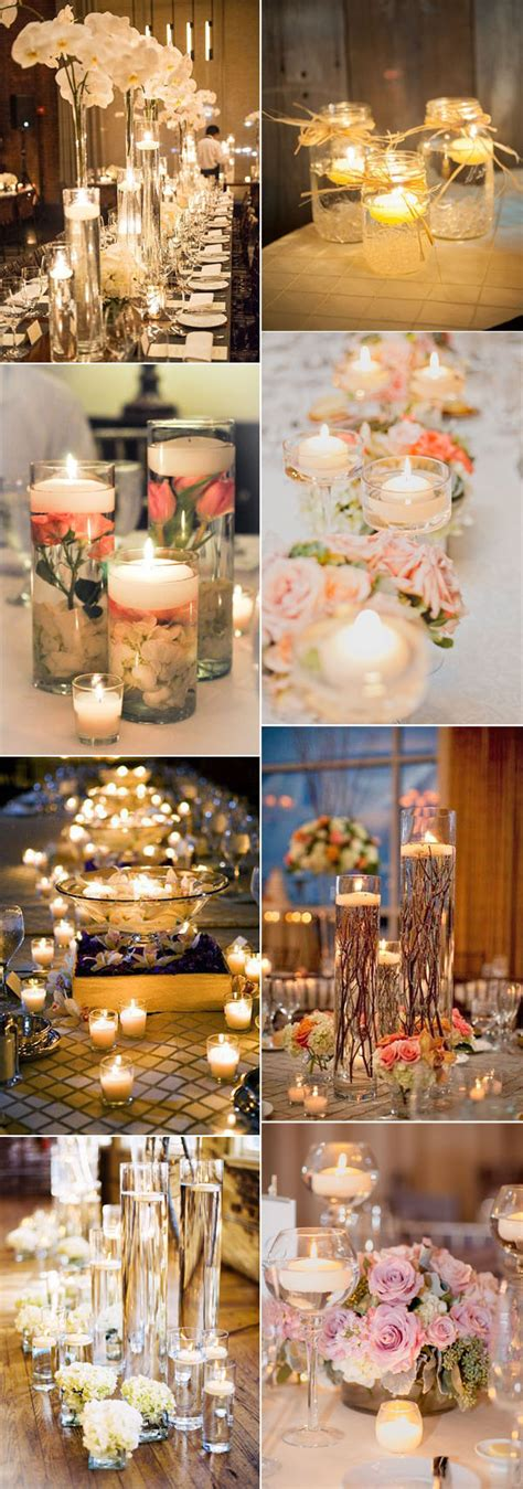wedding decoration ideas with candles 50 fancy candlelight ideas to add to your weddings stylish wedd