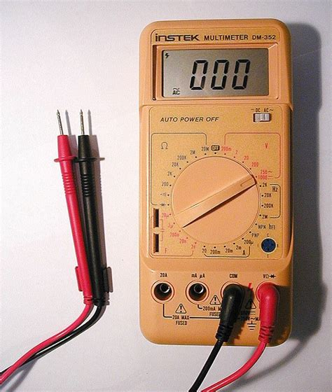 Multimeter Constant 89 25 b 228 sta electrical equipment id 233 erna p 229