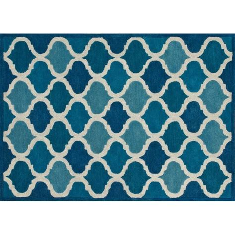 loloi brighton rug loloi brighton trellis bt07 rug 3 6 quot x 5 6 quot cobalt blue rectangle