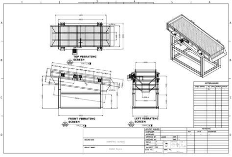 layout pabrik minyak goreng mesin industri gambar teknik detail mesin