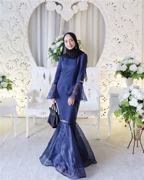 bak putri duyung   gaya mermaid dress buat hijabers