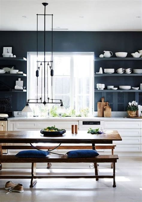 dark blue kitchen 1000 ideas about dark blue kitchens on pinterest