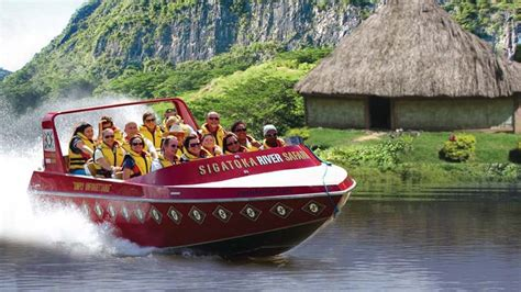 dinner boat rides near me sigatoka river safari jet boat adventure cultural