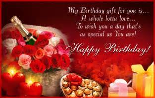 I Love You Birthday Quotes by Happy Birthday Love Quotes For Him Free Images Pictures