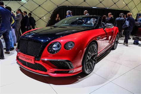 bentley sport convertible geneva 2017 bentley continental supersports coupe
