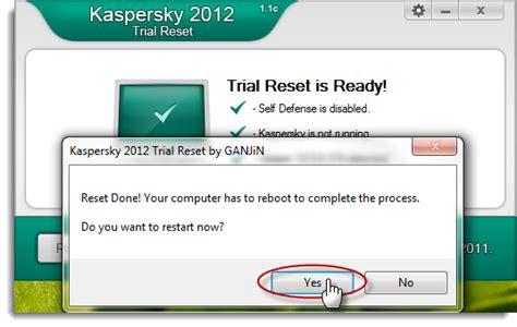 reset kaspersky 2012 30 ngay computer and internet tricks use new kaspersky 2012