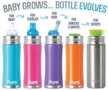Us Baby Sport Straw Bottle 310 Ml Tersedia Pilihan Warna T2909 pura 250ml insulated toddler sippy bottle pura stainless steel water bottles