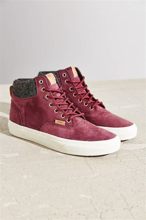 vans era purple vans california era hi sneaker in purple lyst