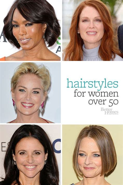 hairstyle makeovers for women over 50 197 best grooming hair make up skin care images on pinterest