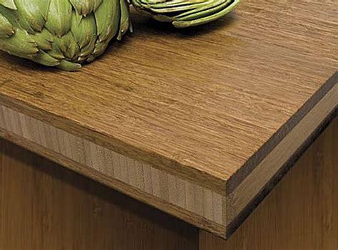 Choosing Bamboo Countertops