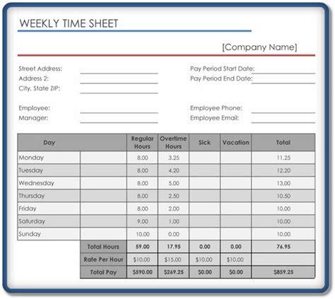 Generic Weekly Timesheet Exle Openoffice Spreadsheet Word Excel Exles Open Office Timesheet Template