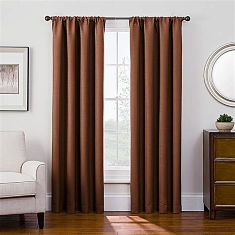 antique satin drapes buy antique satin 95 inch room darkening rod pocket window